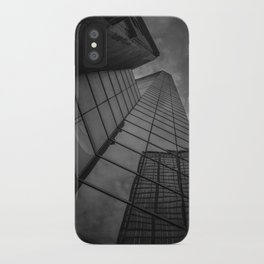 looking up; feeling grey... iPhone Case