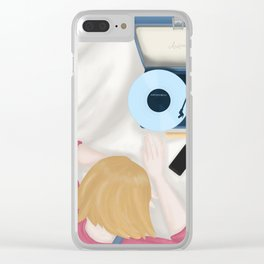 My favorite song Clear iPhone Case