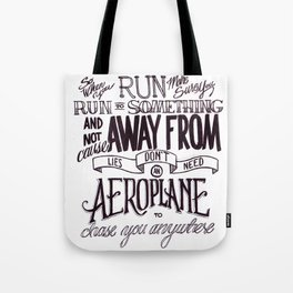 Weight of Lies Tote Bag