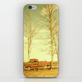 Pappy's farm truck. iPhone Skin