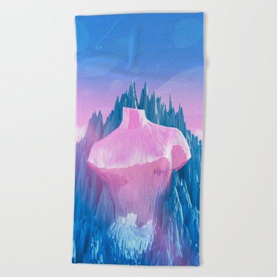 Mount Venus Beach Towel