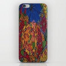 PEACE AND LOVE iPhone & iPod Skin