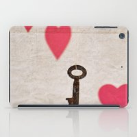 key iPad Cases featuring Key by SilverSatellite