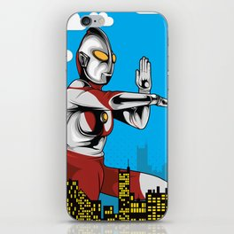 Ultraman iPhone Skin