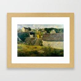 "Paul Gauguin ""Houses at Vaugirard"" Framed Art Print"