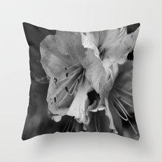 Timeless Black & White  Throw Pillow