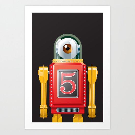 Hellobot 2 Art Print