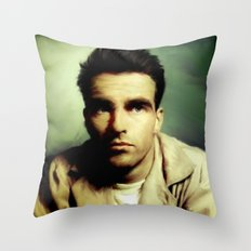 Montgomery Clift Throw Pillow