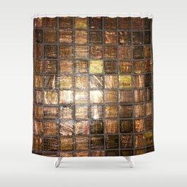 Ebony. Fashion Textures Shower Curtain