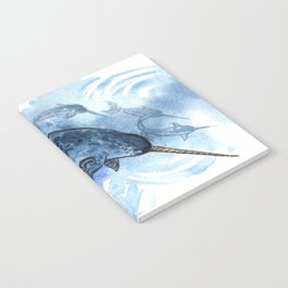 Narwhal Pod Arctic Waters Notebook