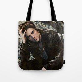 Robert Pattinson FAME comic book cover - Twilight Tote Bag