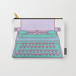 Typemachine Blue Carry-All Pouch