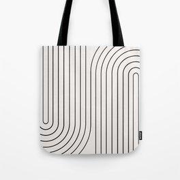 Minimal Line Curvature I Tote Bag