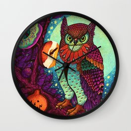 Trick or Treats Wall Clock
