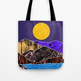 Textured lands Tote Bag