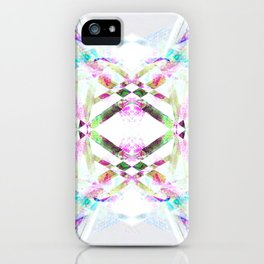Kaleidoscopic .01 - Fractal Festival Style iPhone Case