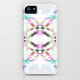 Kaleidoscopic .01 - Fractal Festival Style iPhone Case