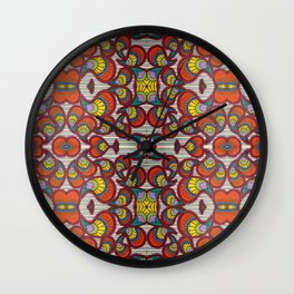 Clown Shoes Wall Clock