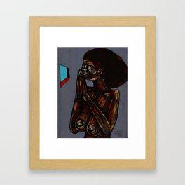 2018 Ndani Trust Nafsi art by Marcellous Lovelace Framed Art Print
