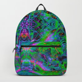 Techno Electric IV (Ultraviolet) Backpack