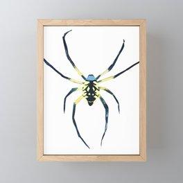 EEK the Spider Framed Mini Art Print