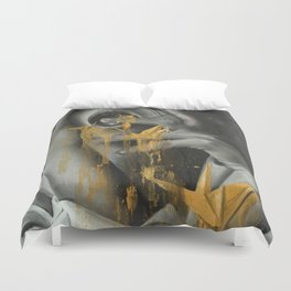Don't Speak by Megan Buccere Duvet Cover