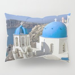 Santorini, Oia Village, Greece Pillow Sham