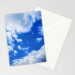 cloudy sky 3 std Stationery Cards