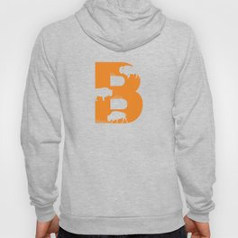 B is for Bison - Animal Alphabet Series Hoody