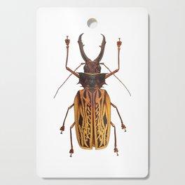 Macrodontia Cervicornis Sabertooth Beetle Cutting Board