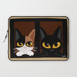 Lovely two cats Laptop Sleeve