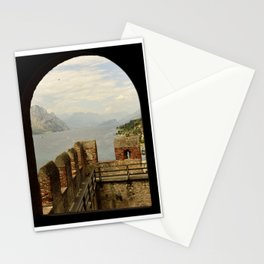 Malcesine lake Garda Italy Stationery Cards