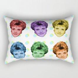 Badass, She Is! Rectangular Pillow