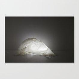 Glowing Glue Shell Canvas Print