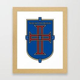 Portugal Seleção das Quinas (Team of Shields) ~Group B~ Framed Art Print