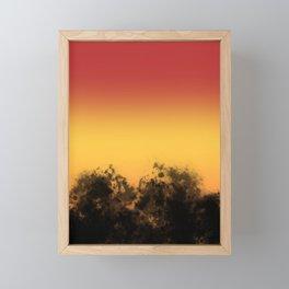 Sunset Seranade Framed Mini Art Print