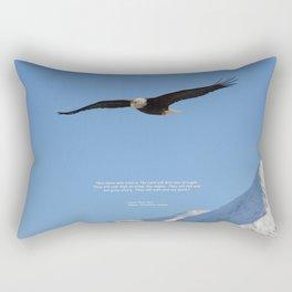 Soaring High!  -  Mature Rectangular Pillow