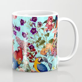 Floral and Birds XI Coffee Mug