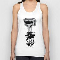 sleep Tank Tops featuring Sleep by vsMJ