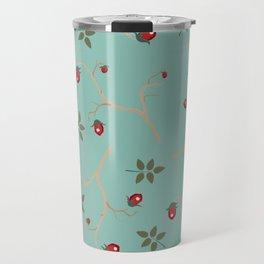 Winter Pattern Travel Mug
