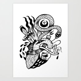 HEARTHOLOGY Art Print