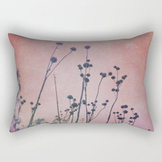 Through Rose Colored Glasses Rectangular Pillow