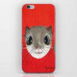 Cute baby Squirrel Bright Bold Colors Childrens decor Nursery Art iPhone Skin