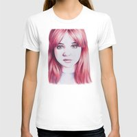 karen hallion T-shirts featuring karen ii by Jill Schell