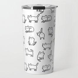 Cats. Cats. Cats Travel Mug