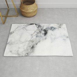 Arctic White Marble Rug