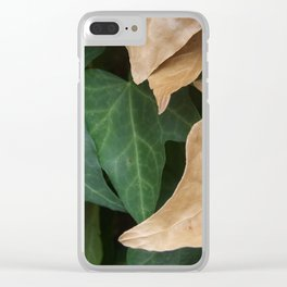 Autumn is Coming Clear iPhone Case