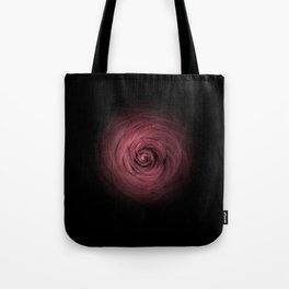 Velvety rose with a dark background Tote Bag