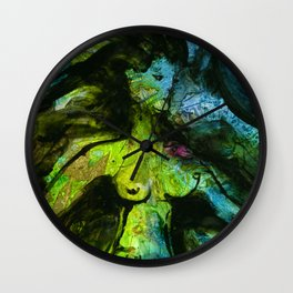 Goddess Art Dance by Kathy Morton Stanion Wall Clock
