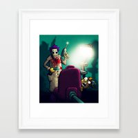 dentist Framed Art Prints featuring Dentist by MaComiX